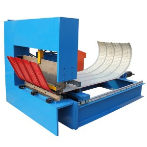 Curved Cladding Sheets Machine