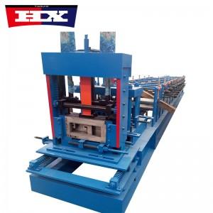 Steel structure c z purlin manufacturing machine