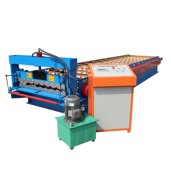 Best Price for Slitting And Cutting Machine - Wholesale Metal Roof Sheet Making Machine/zinc Roof Tile Making Machine/galvanize Roof Panel Roll Forming Machine – Haixing Industrial