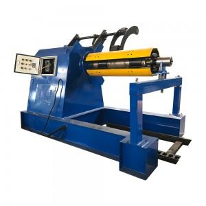 Manufactur standard Bender Bending Machine - Hydraulic Decoiler Machine With Press Arm – Haixing Industrial
