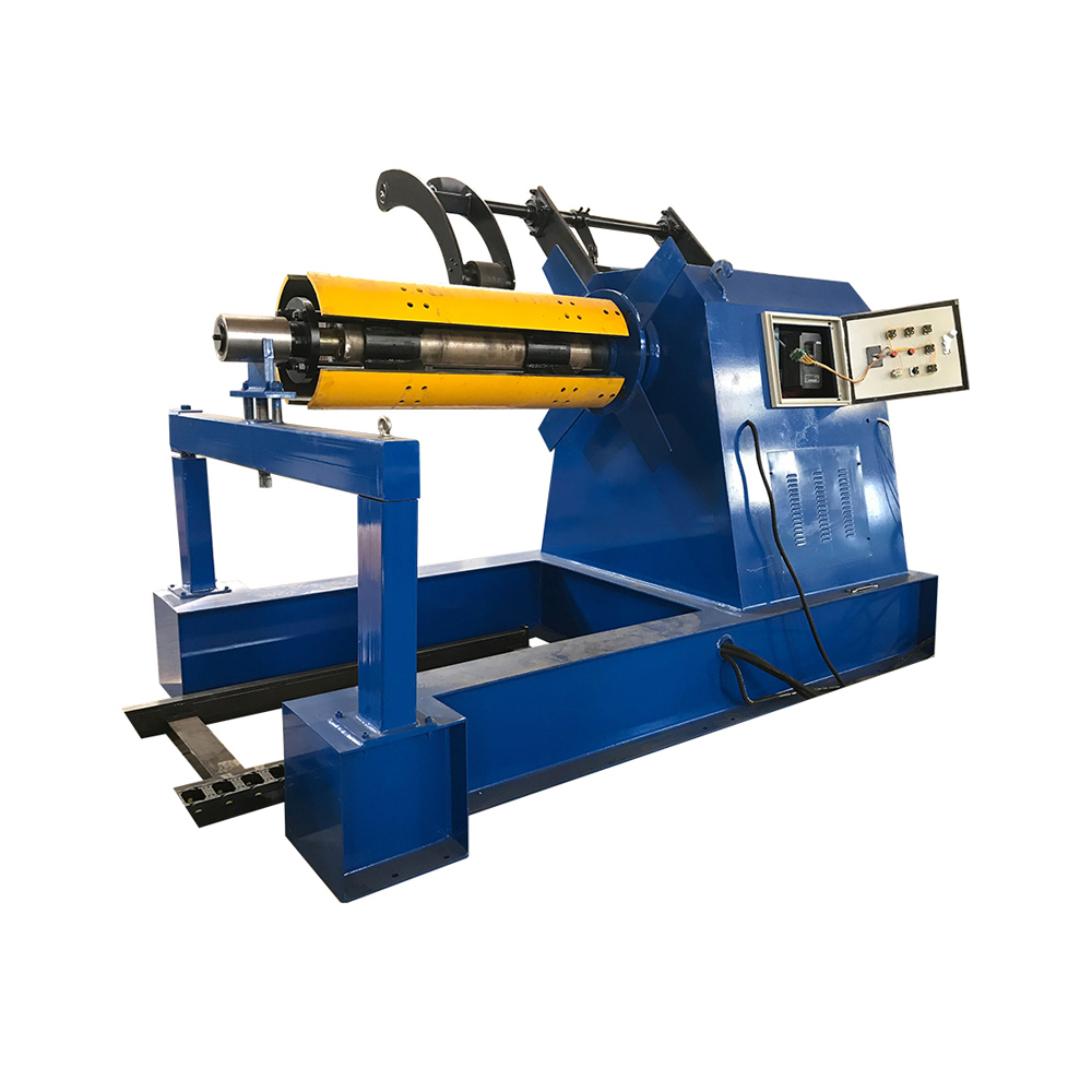 Wholesale Metal Roof Panel Machine - OEM/ODM China Hydraulic Steel Coil Decoiler For Sale – Haixing Industrial