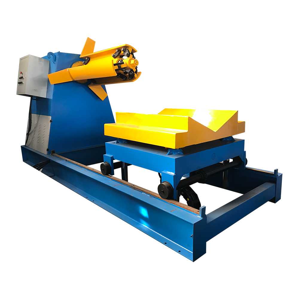 5t/6t/7t/8t/10t/12t/15t/20t hydraulic decoiler for press Featured Image