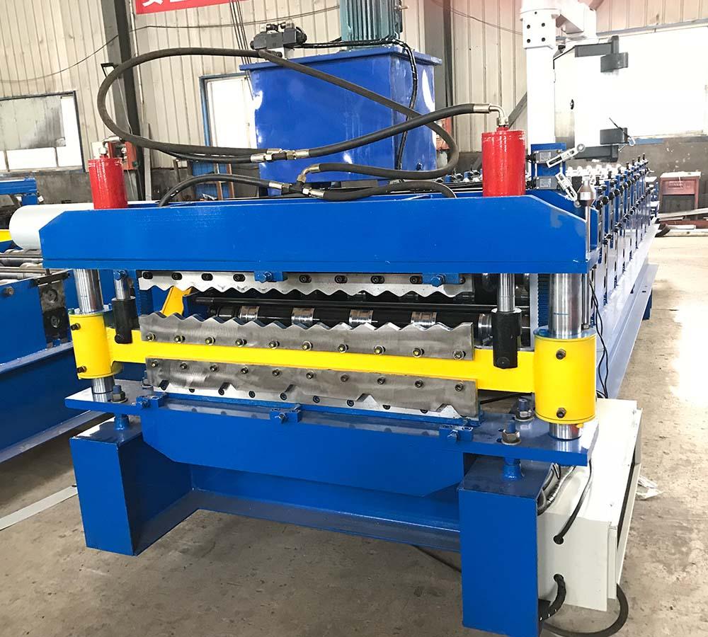 double layer machine-corrugated and trapezoidal11