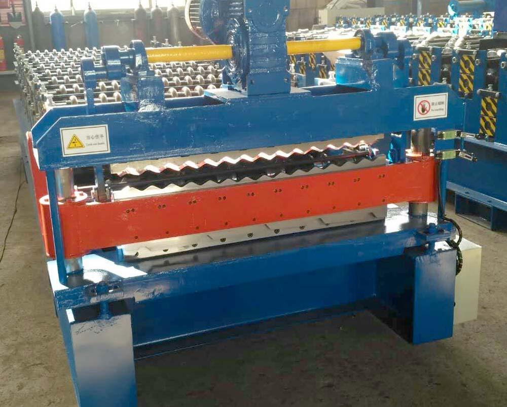 double layer machine-corrugated and trapezoidal12
