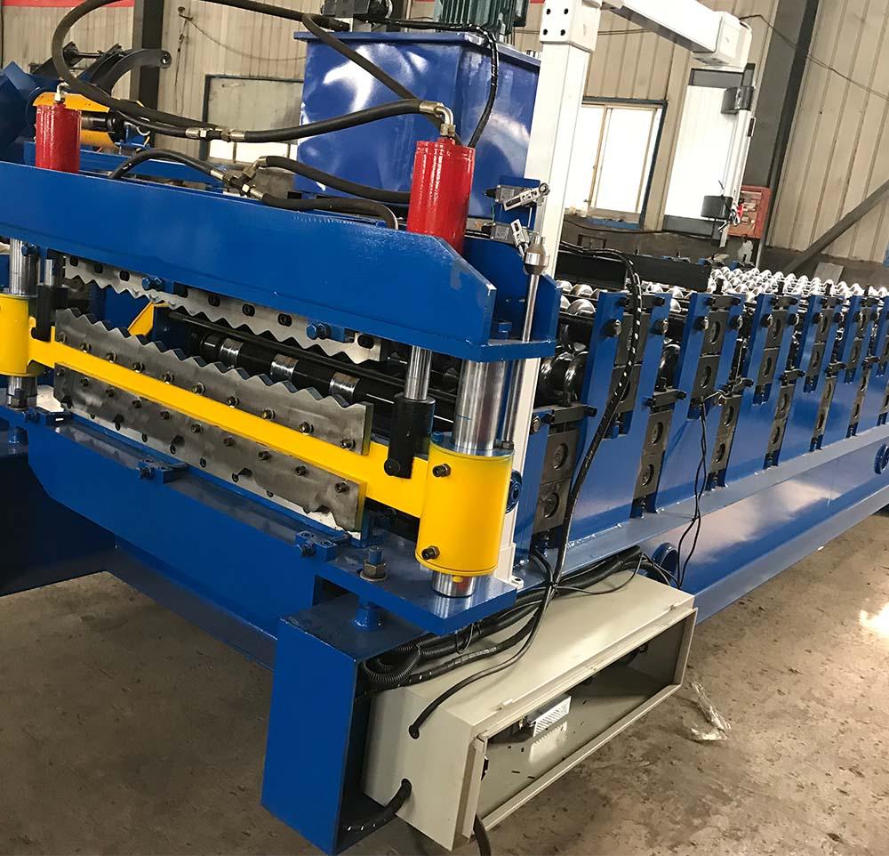 double layer machine-corrugated and trapezoidal13