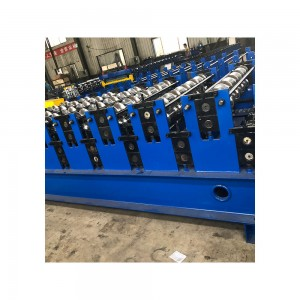 Double layer clicklock seamless metal roofing machine