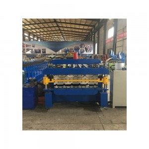 Glazed and trapezoidal multi panel roofing machine