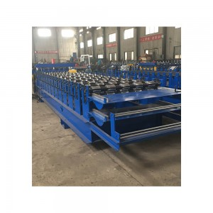 Double sheet manufacturer seamlock boltless roofing roll forming machines