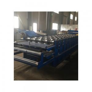 Steel tile multi-panel roofing machine price