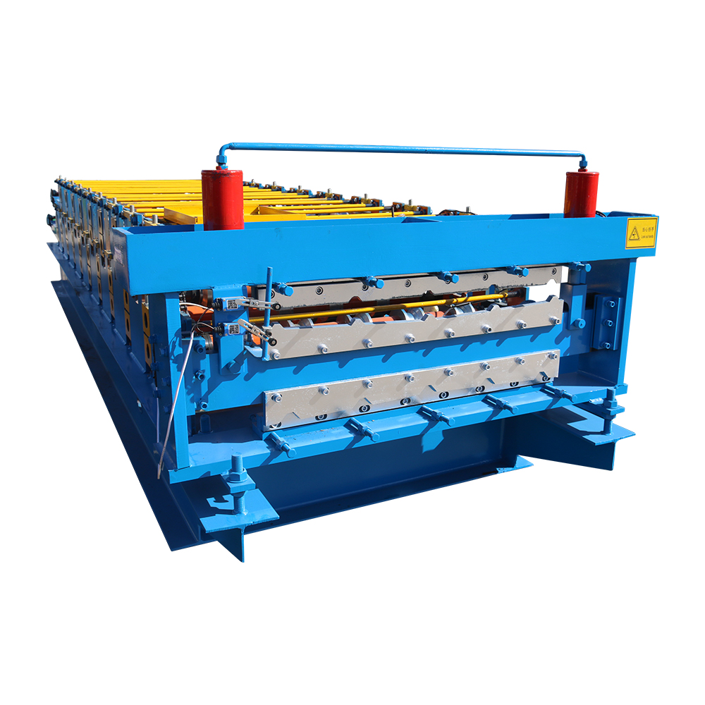 Original Factory Pu Sandwich Panel Line - Double Layer Roofing Roll Forming Machine – Haixing Industrial