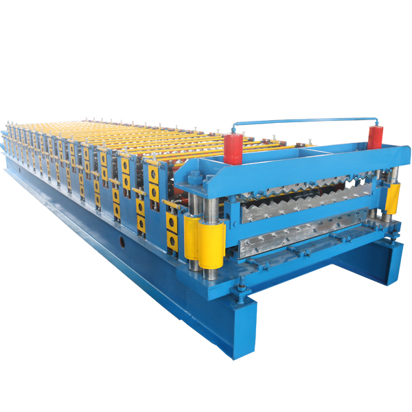 China Manufacturer for Downspout Pipe Machine - Double Layer Corrugated Roof Sheet Making Machine – Haixing Industrial