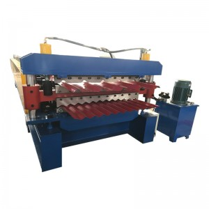 CNC double layer roof tiles making machine manufacturer