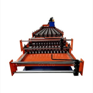 Double Layer Color Steel Roll roll forming machine