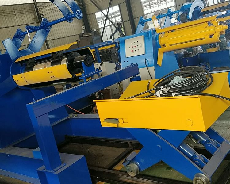 Auto Hydraulic Decoiler Without Car21