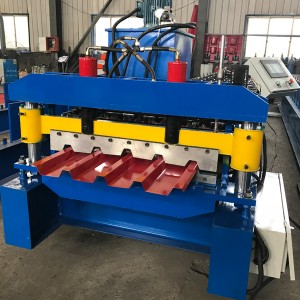 Factory wholesale T Profile Rolling Forming Machinery - IBR Roof Panel Roll Forming Machine – Haixing Industrial