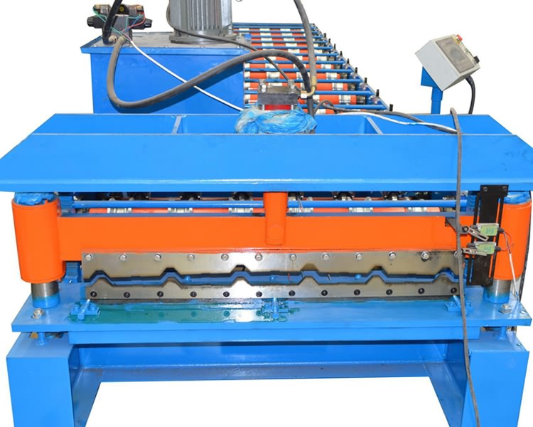 aluminum trapezoidal roof making machine11