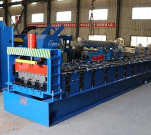 Alta Precisión Cnc plataforma suelo laminado en frío que forma la máquina para la venta