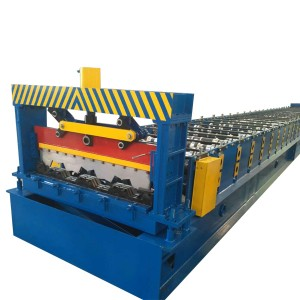 Steel Floor Decking Panel Roll Forming Machine