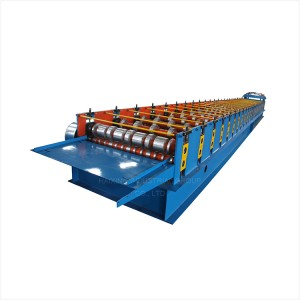 Deck Floor Cutting Cold Roll Forming Machine