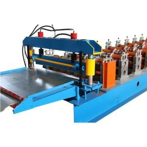 Automatic Metal Deck Floor Deck Steel Making Machine