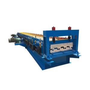 Automatic Roof Panel Floor Deck Tile Making Machine