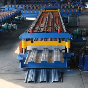 Color Steel Automatic Floor Deck Tile Forming Machine