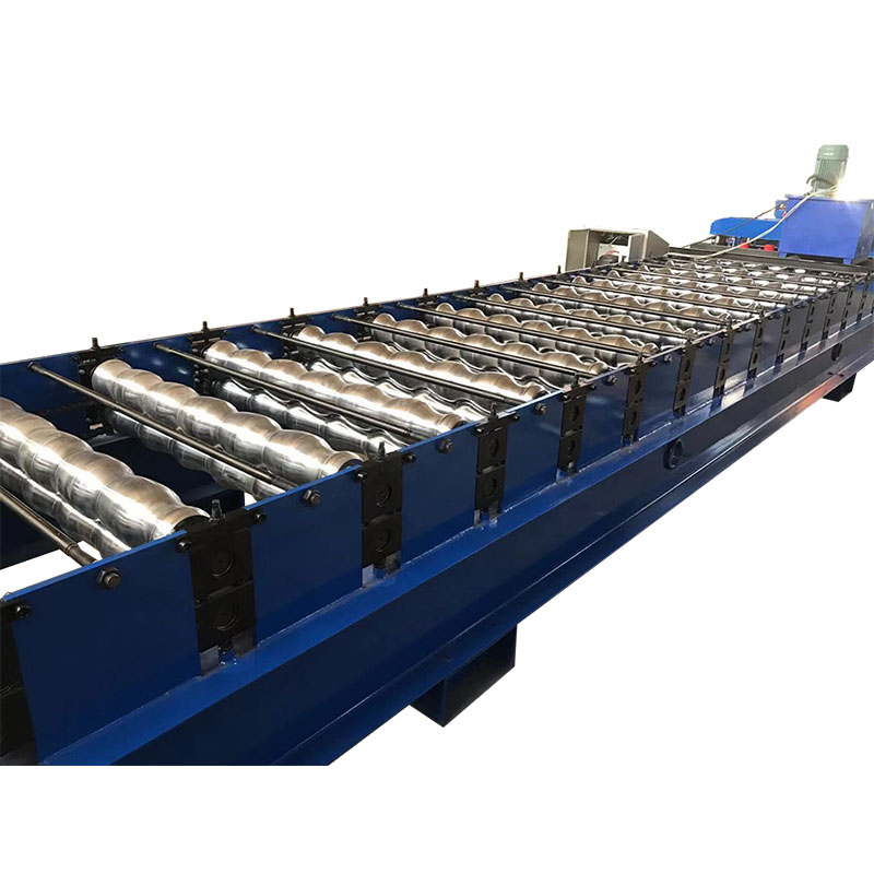 Discount wholesale Glazed Tile Cold Roll Forming Machine - Best Price on Ppgi Steel Roof Metal Glazed Tile Making Forming Machine – Haixing Industrial Featured Image