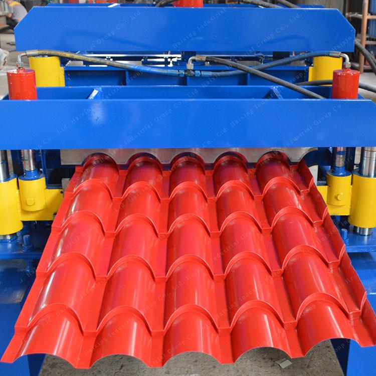 glazed roof machine(3)