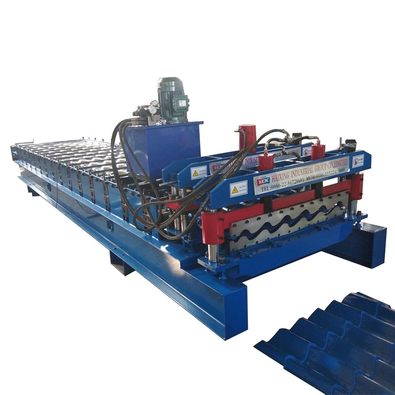 2019 High Quality Glazed Tile Making Machinery Roof Forming Machine Featured Image