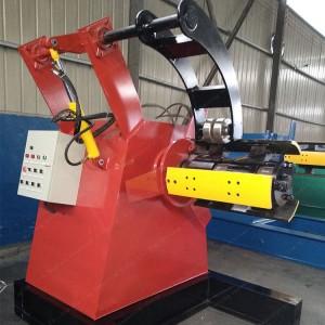 Sheet Metal Hydraulic Decoiler With Trolley