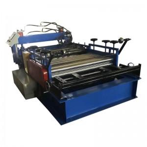 steel coil straightening and cutting machine