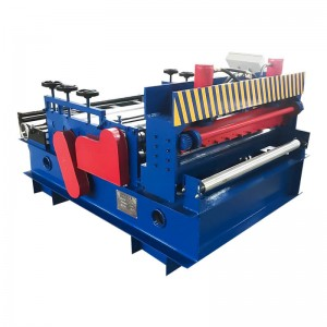 coil straightening slitting machine