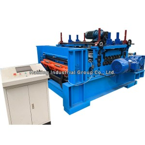 Stainless steel sheet leveling machine