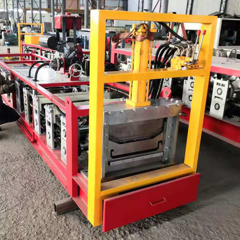 The portable roll forming machine series brings metal roof manufacturing to the job site