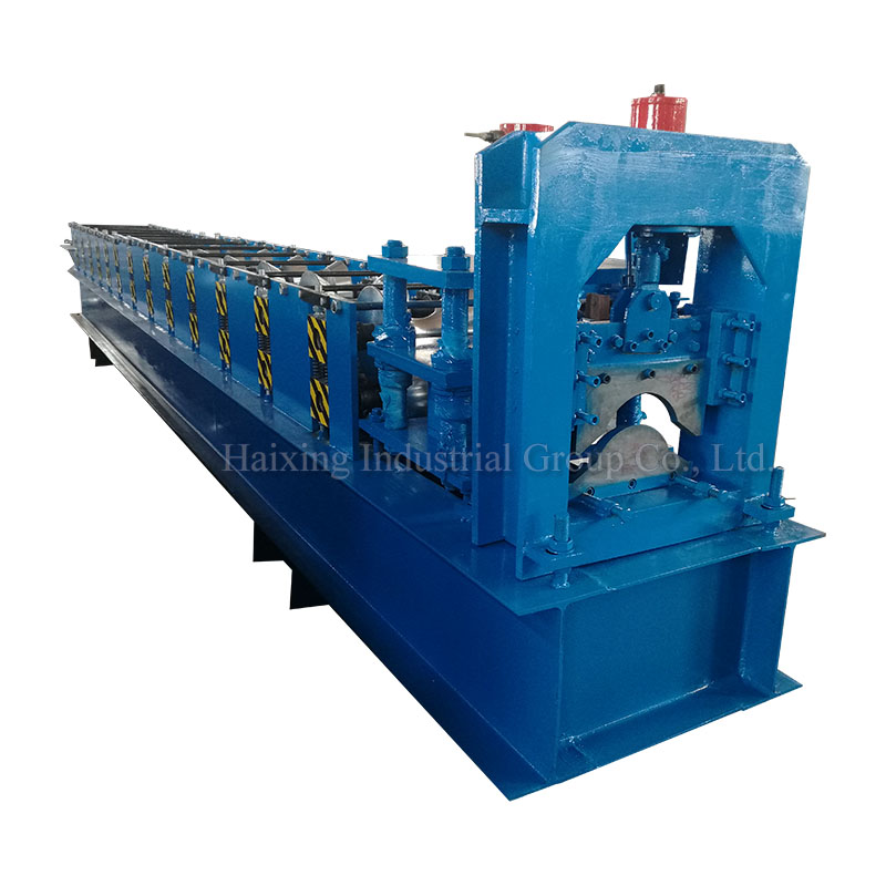 Factory Price For C/Z Purlin Roll Form Machine - Chinese wholesale Widely Used Color Steel Metal Roof Ridge Cap Tile Cold Roll Forming Machine/making Machine – Haixing Industrial