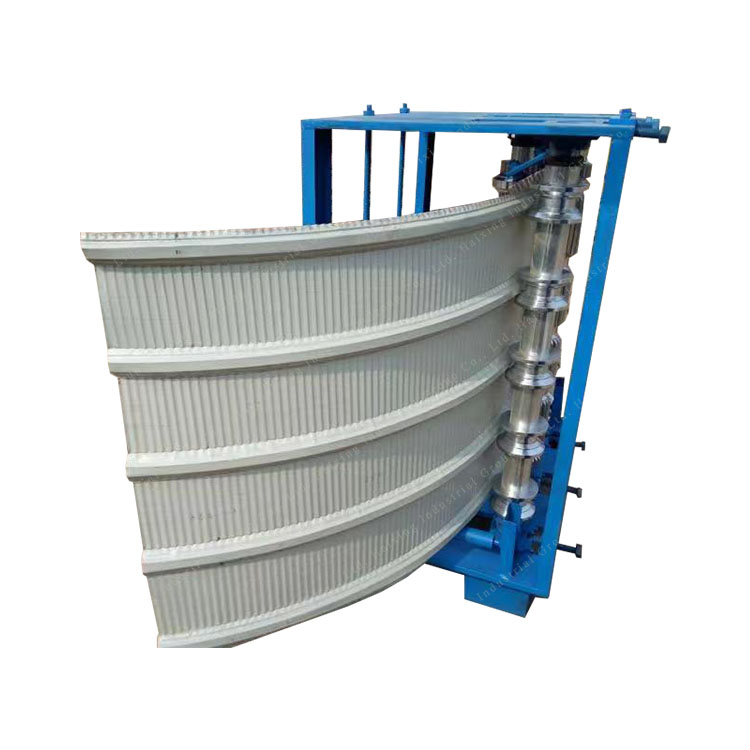 Vertical Arch Roof Sheet Crimping Panel Curving Machine Featured Image