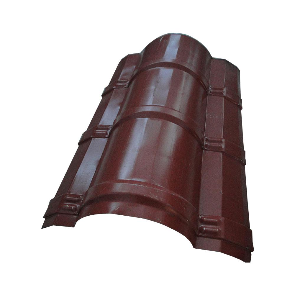 Reasonable price for Ibr Roof Sheeting Machine - Galvanized ridge cap zinc roofing sheet – Haixing Industrial