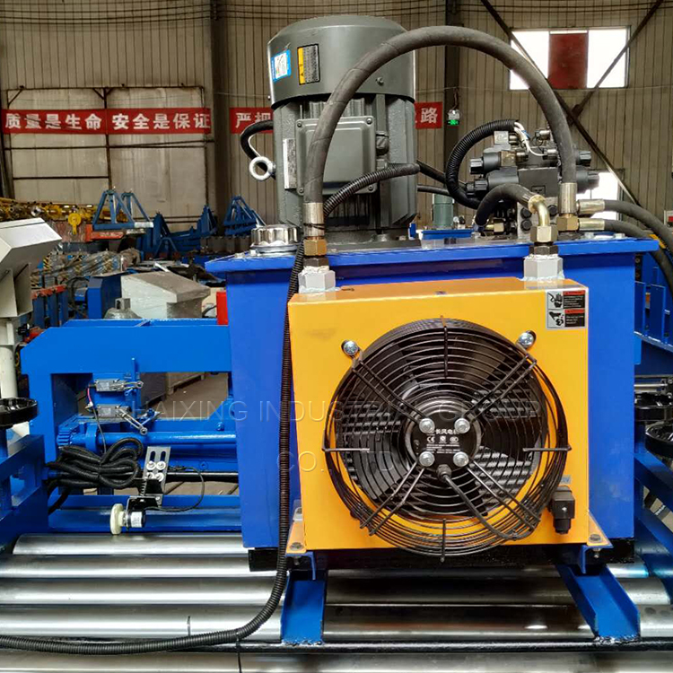 sheet metal leveling machine5
