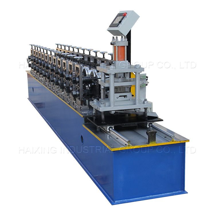 Shutter door forming machine with hydraulic guide column cutting Featured Image