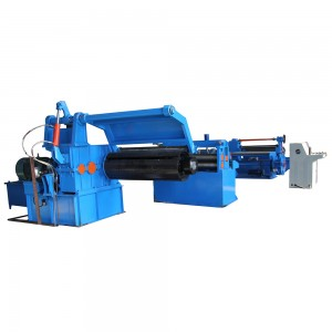 Slitting Line With Decoiler And Recoiler