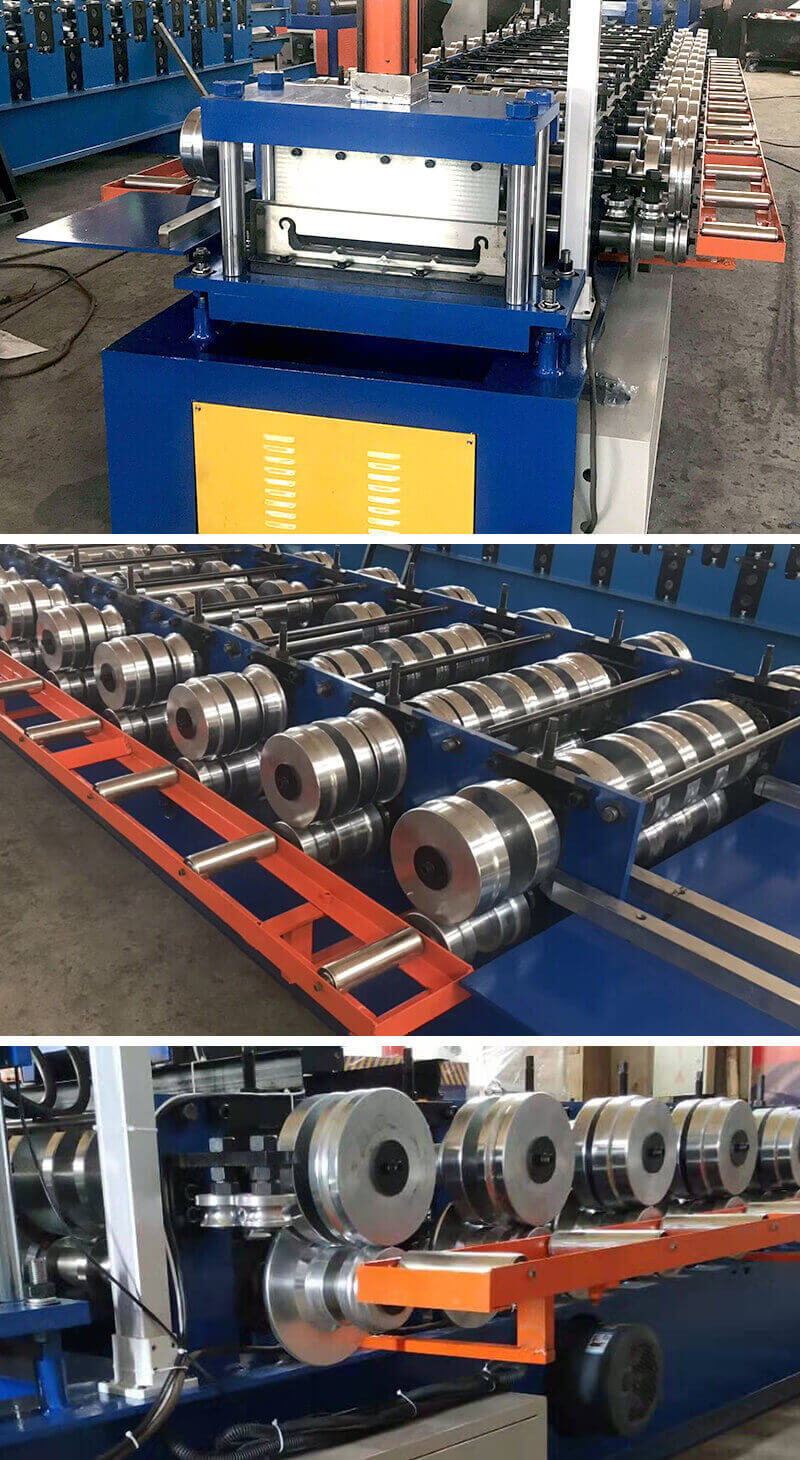 standing seam roll forming machine details