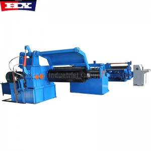 Steel coil slitting rewinding machine