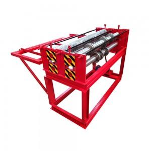 sheet metal roll slitting machine
