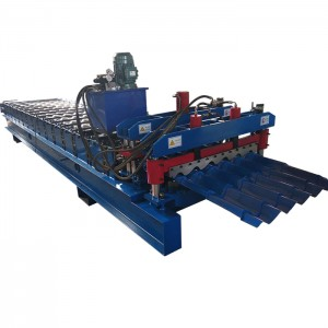 Glazed Roof Roll Forming Making Machine