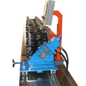 Ceiling T Bar Frame Making Machine