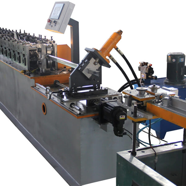 Automatic Ceiling Grid T Bar Sheet Metal Roll Forming Machines Featured Image