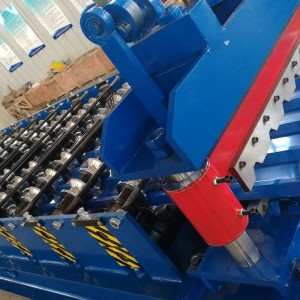Steel Trapezoidal Roofing Wall Tile Forming Machine