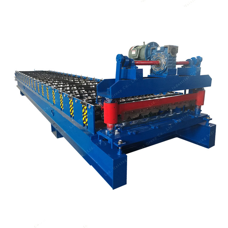 Trapezoidal Metal Sheet Roofing Roll Forming Machine For Sale Featured Image