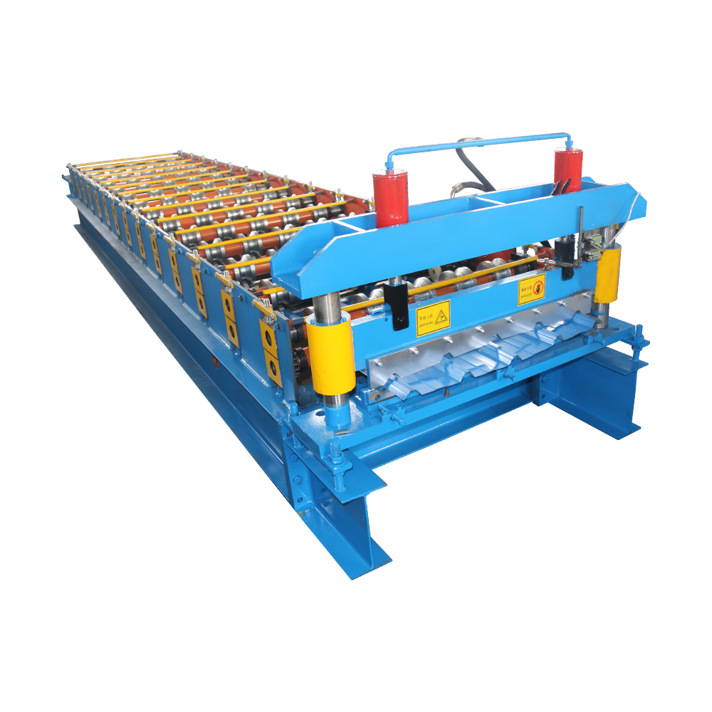 One of Hottest for C/Z Purlin Machine - Trapezoidal Roof Sheet Roll Forming Machine – Haixing Industrial