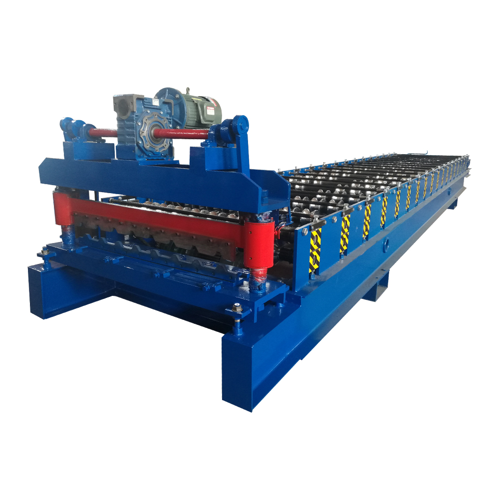 Metal Trapezoidal Sheet Roll Forming Machine Featured Image